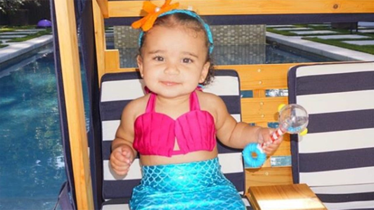Dream Kardashian Celebrates 1st Birthday With Mermaid