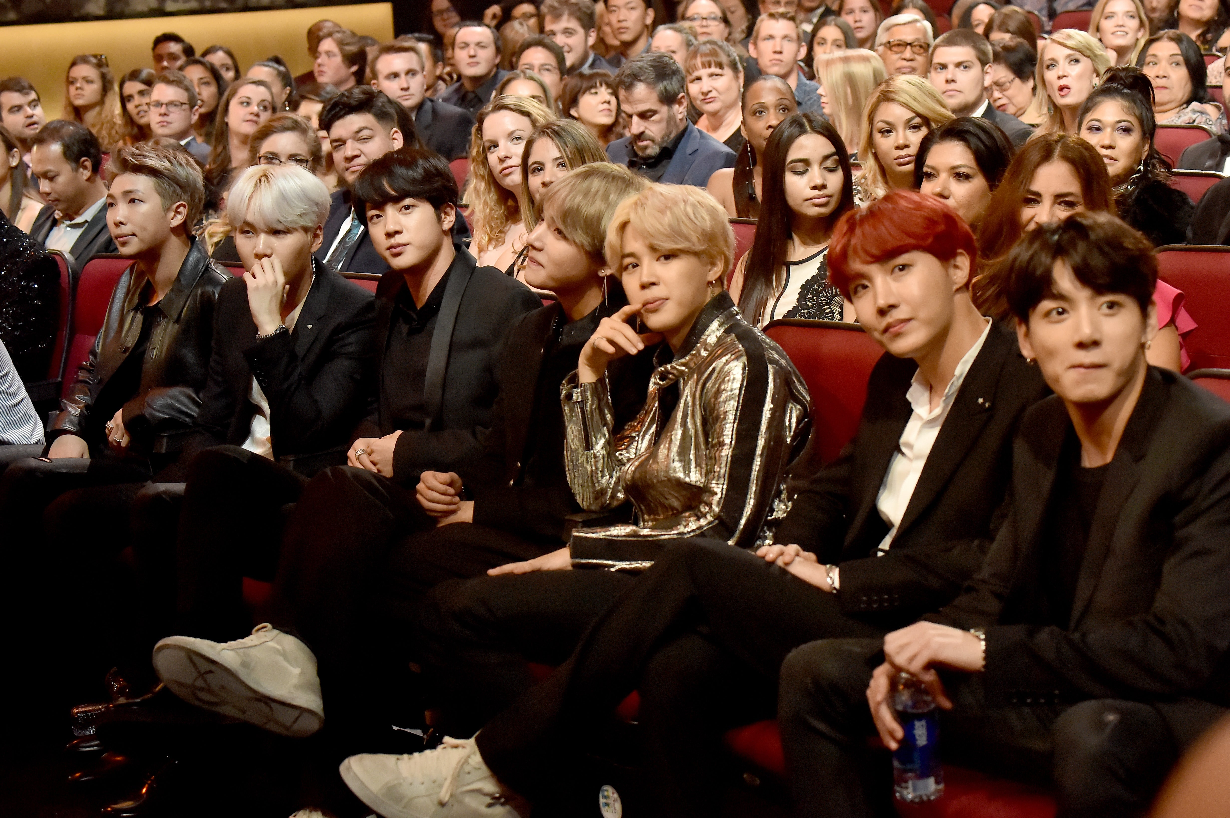 BTS AUDIENCE AMAS