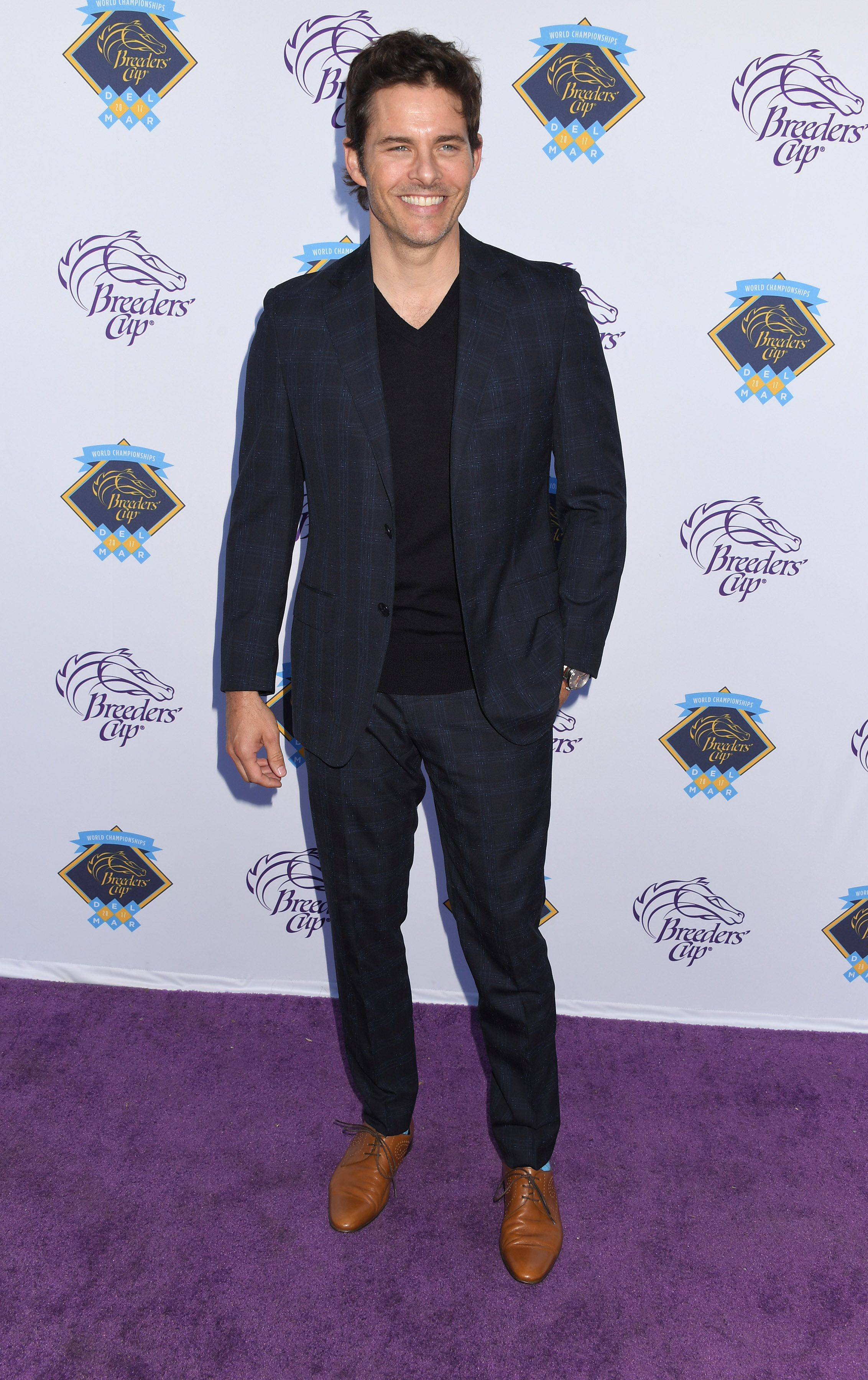 James Marsden at Breeders Cup