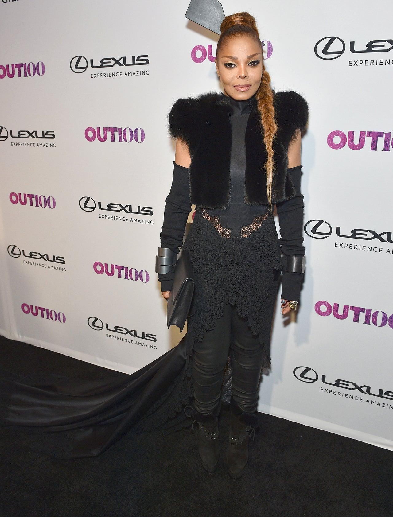 Janet Jackson rocks jumpsuit