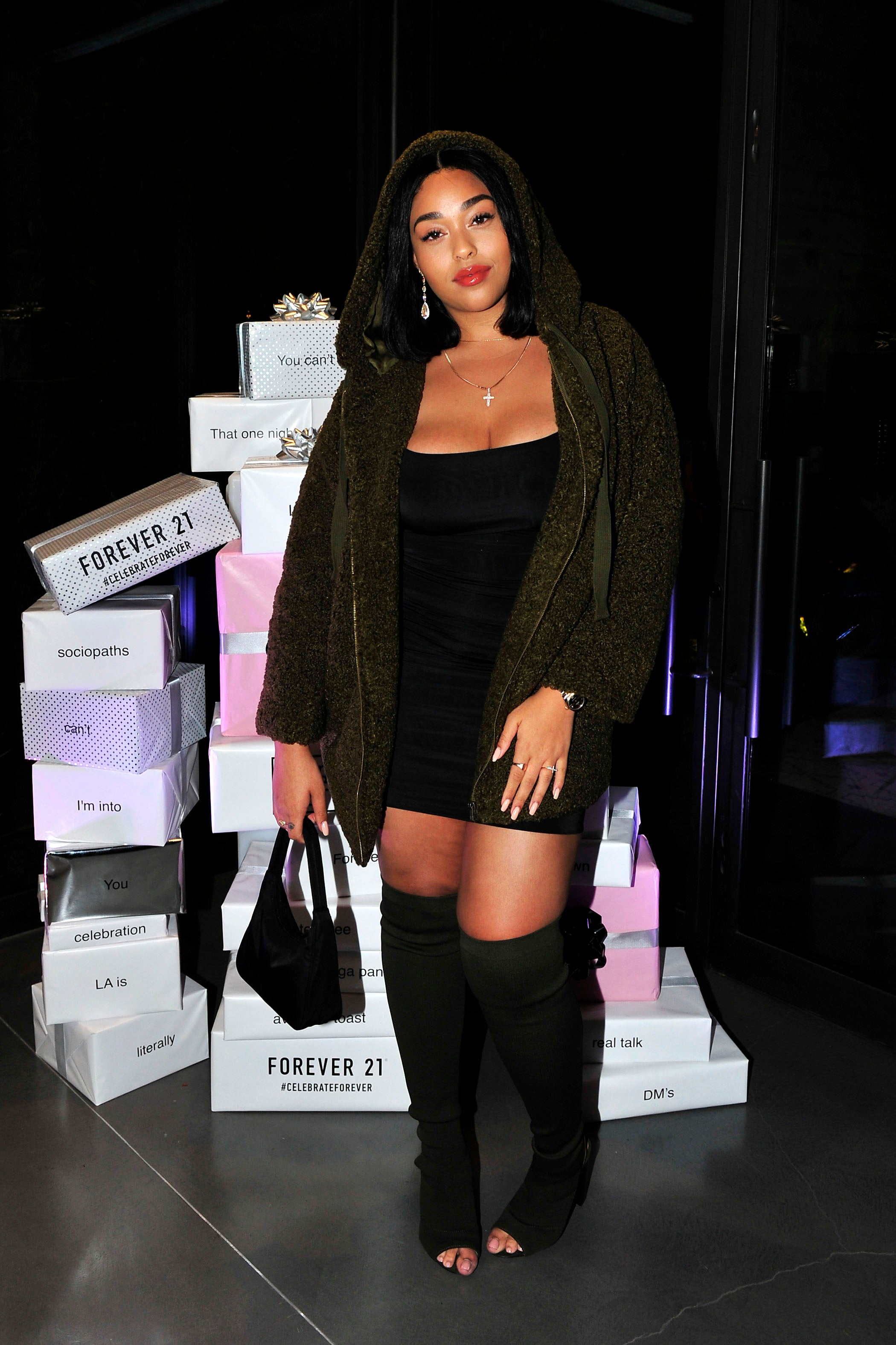 Jordyn Woods at Forever21 event
