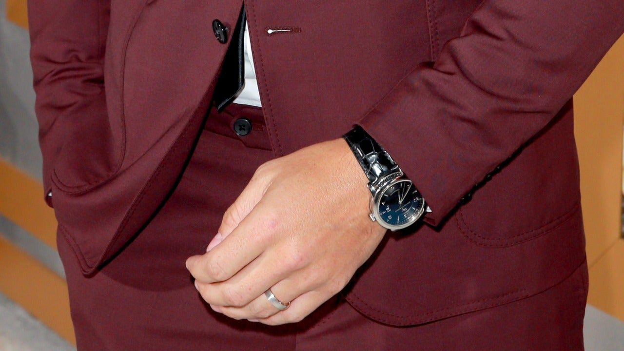 Justin Hartley's Watch at Bad Moms Christmas Premiere