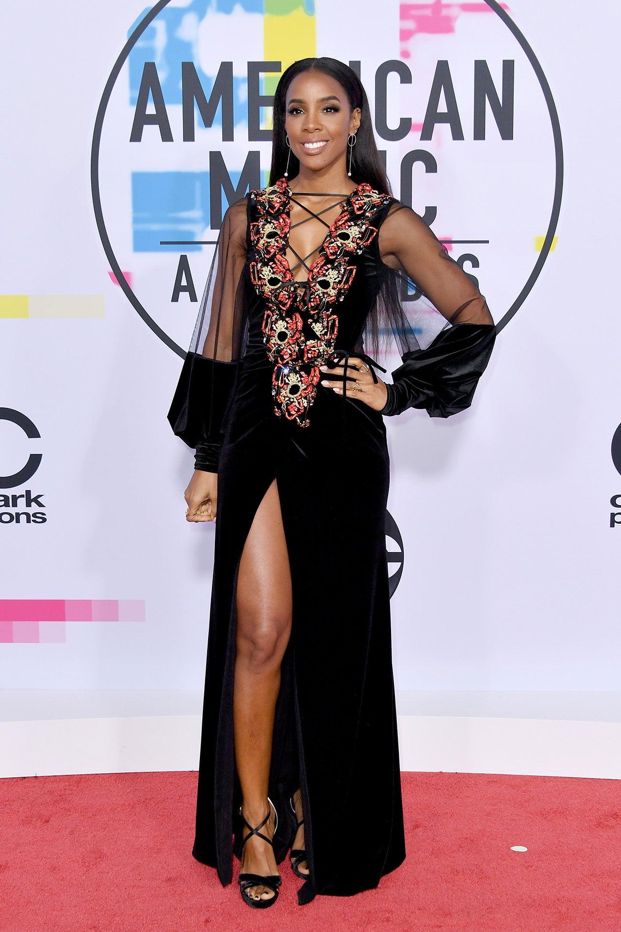 Kelly Rowland at the AMAs