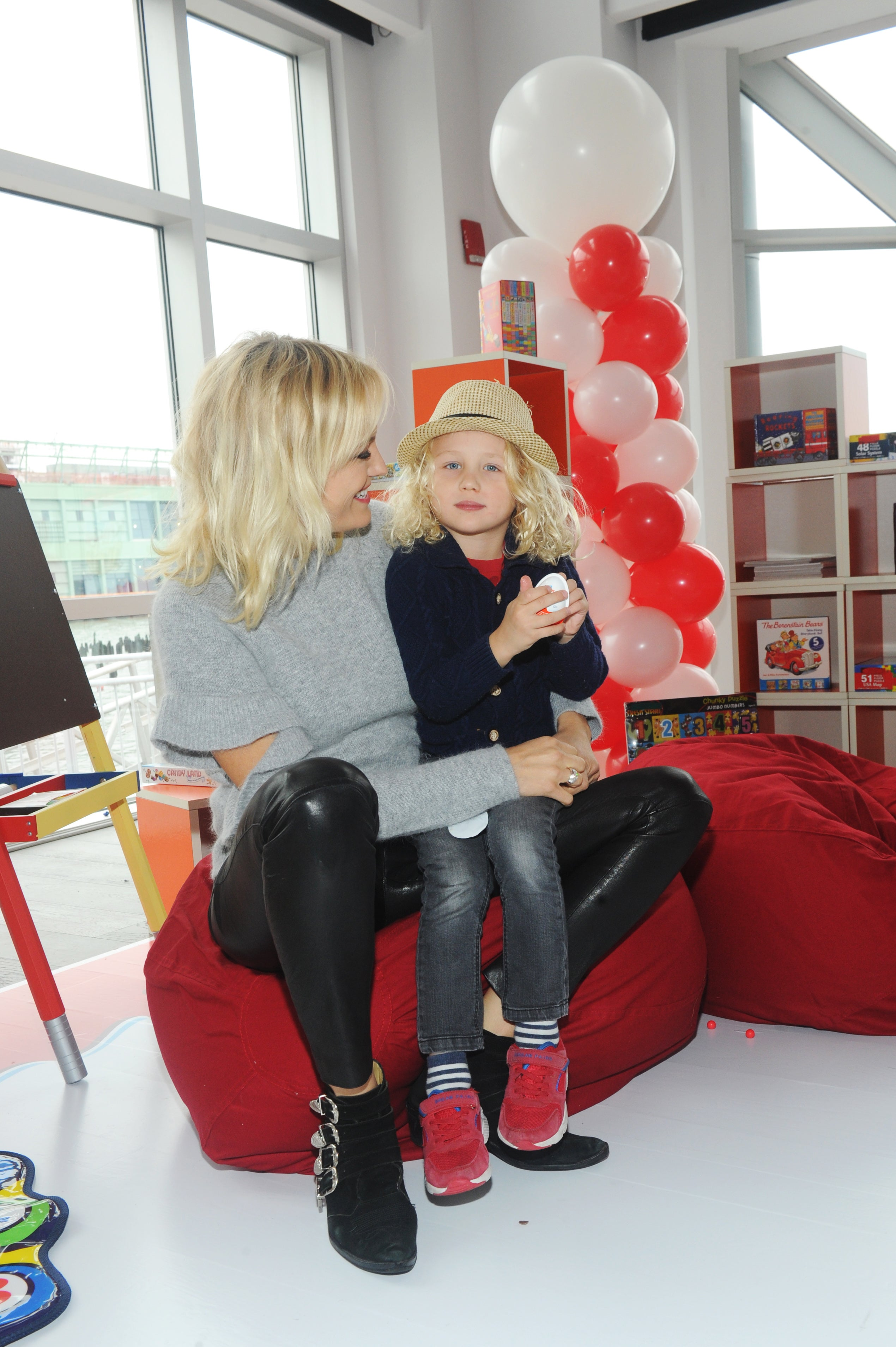 Malin Akerman at Kinder Joy launch
