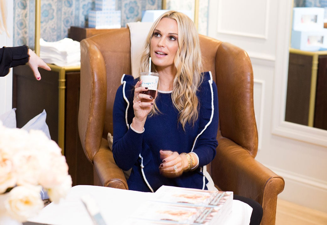 Molly Sims at book signing