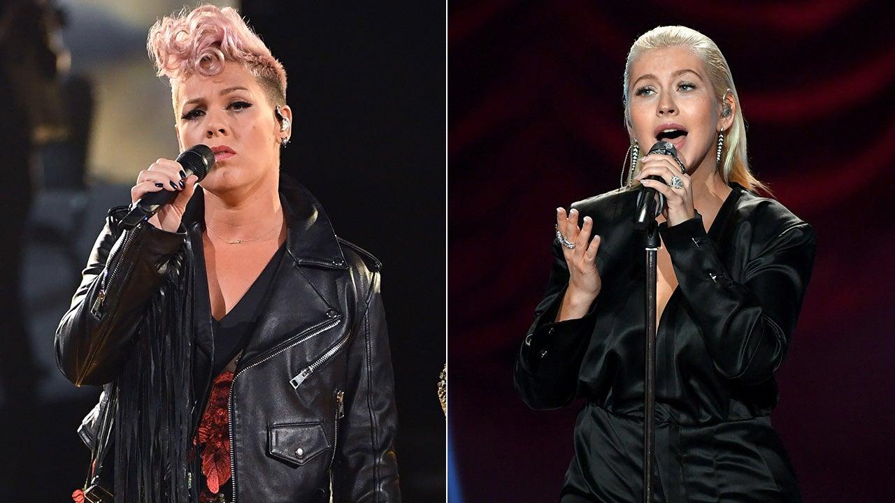 Pink Slams Christina Aguilera Rift Rumors, Calls the 2017 AMAs a ...
