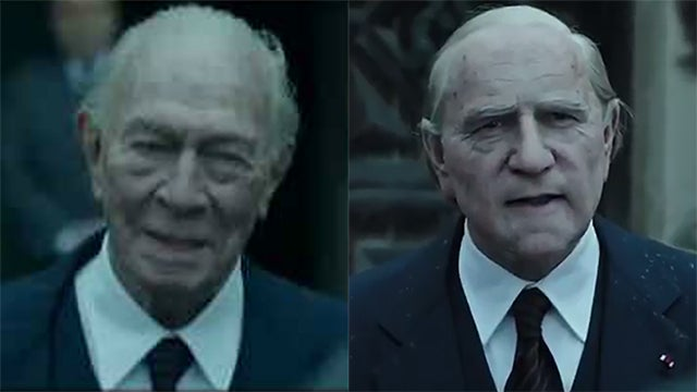 Christopher Plummer and Kevin Spacey All the Money in the World