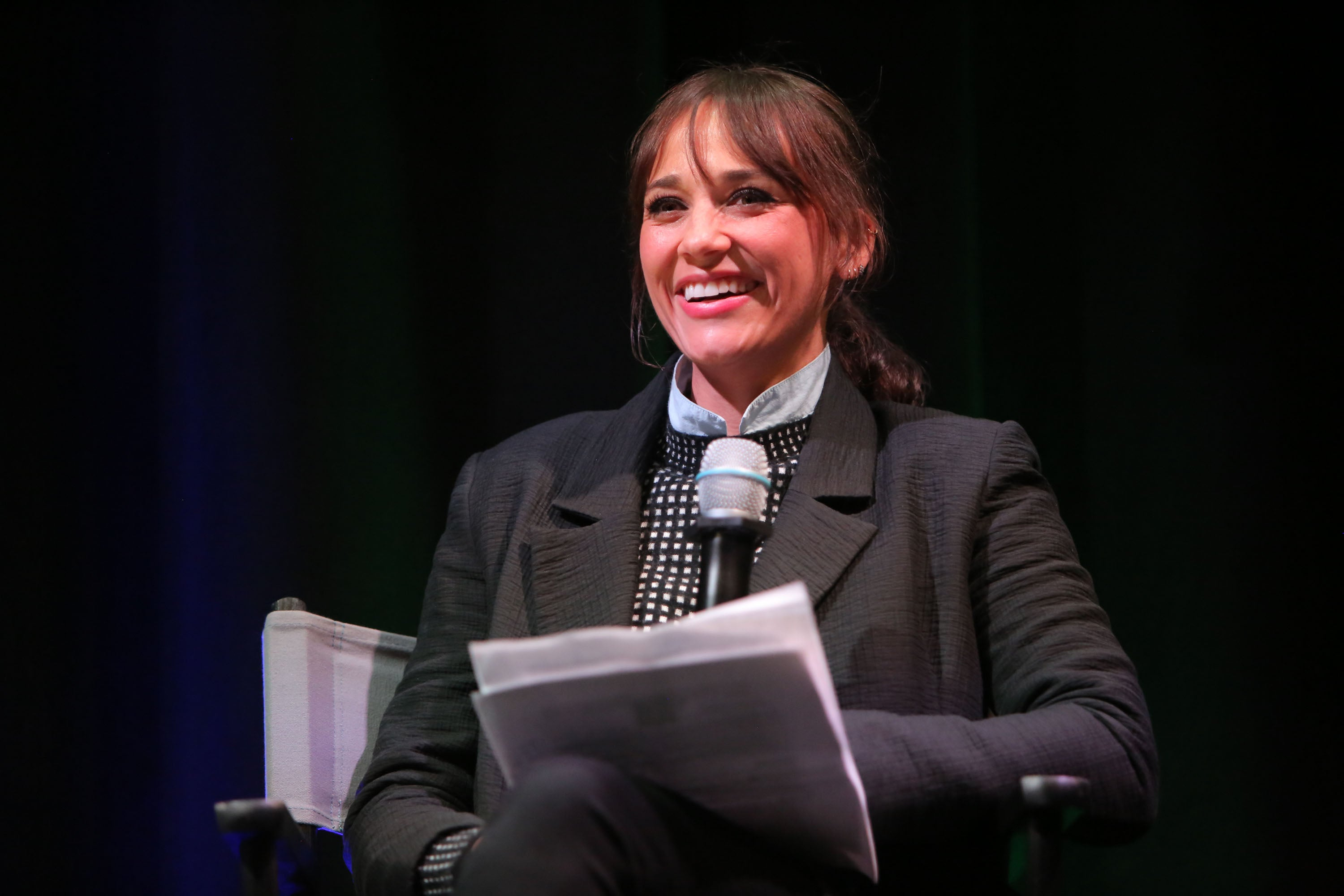 Rashida Jones at Project MC2