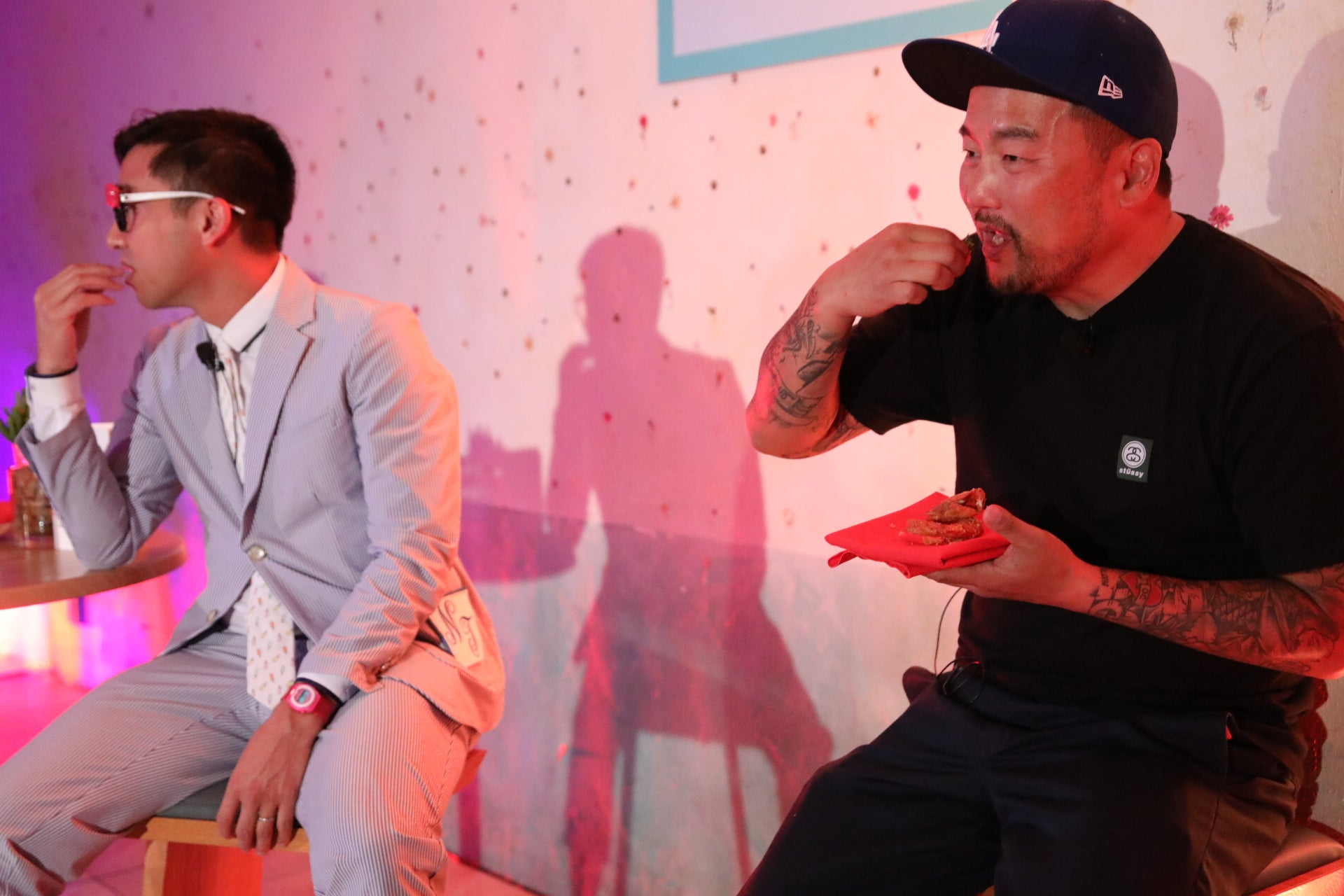 Roy Choi at Kellogg's event