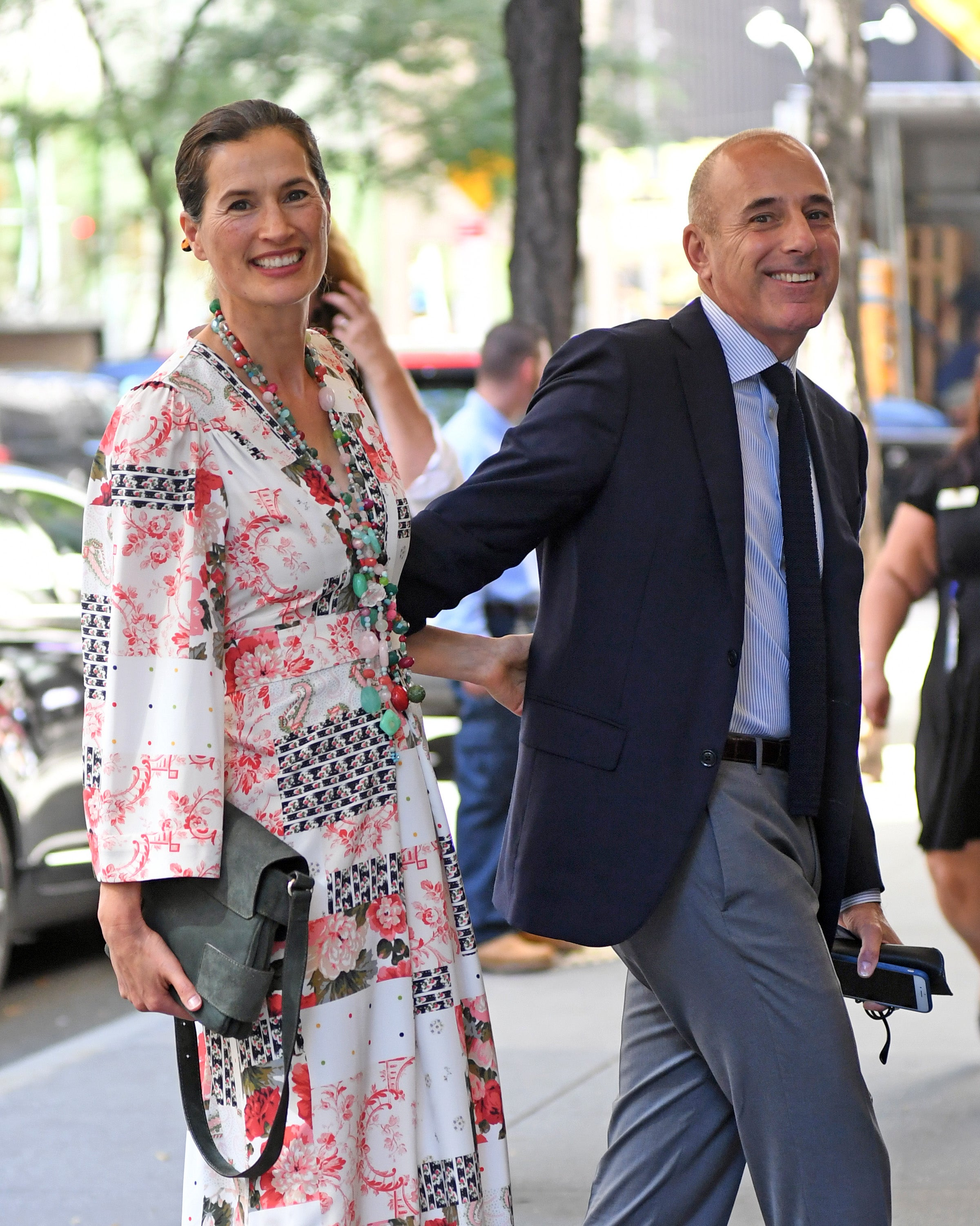 Matt lauer annette lunch