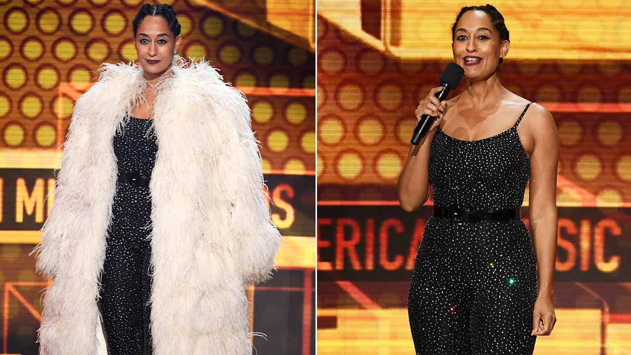 Host Tracee Ellis Ross at the AMAs