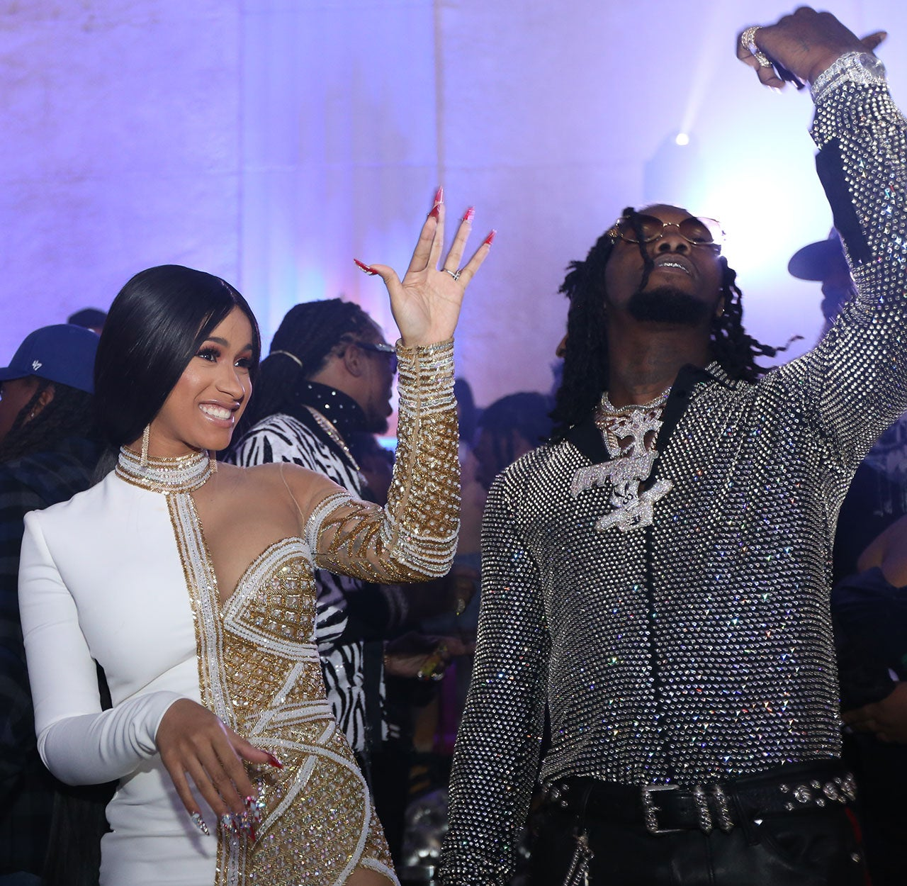 Cardi B Stuns At Offset S Birthday Party Gifts Fiance