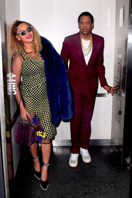 Beyonce and JAY-Z elevator
