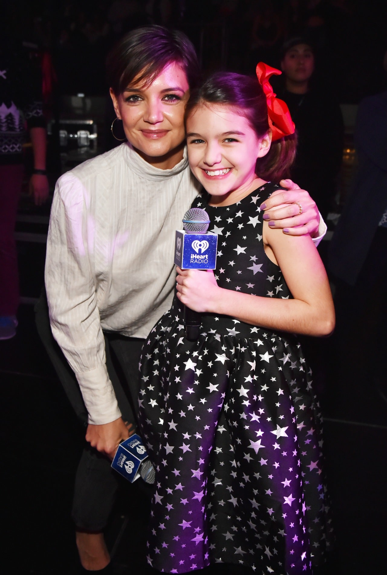 Katie Holmes And Suri Cruise Make Surprise Appearance At