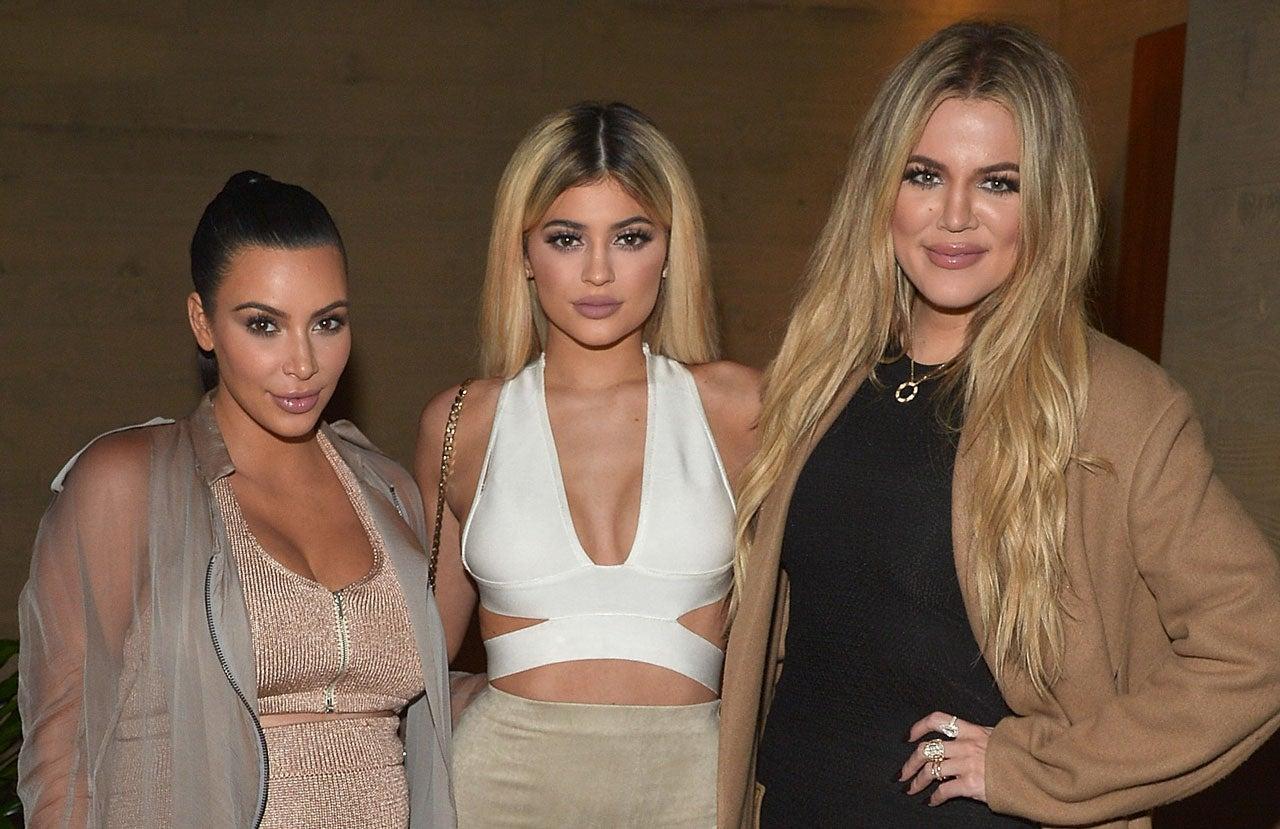 Kim Kardashian, Kylie Jenner and Khloe Kardashian