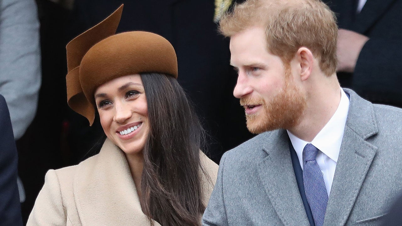 Meghan Markle Attends First Christmas Day Service With Fiance Prince Harry And Royal Family