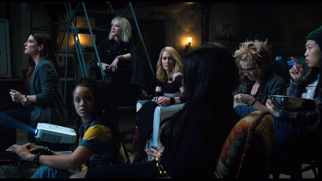 Ocean S 8 Trailer Has Sandra Bullock And Her All Female