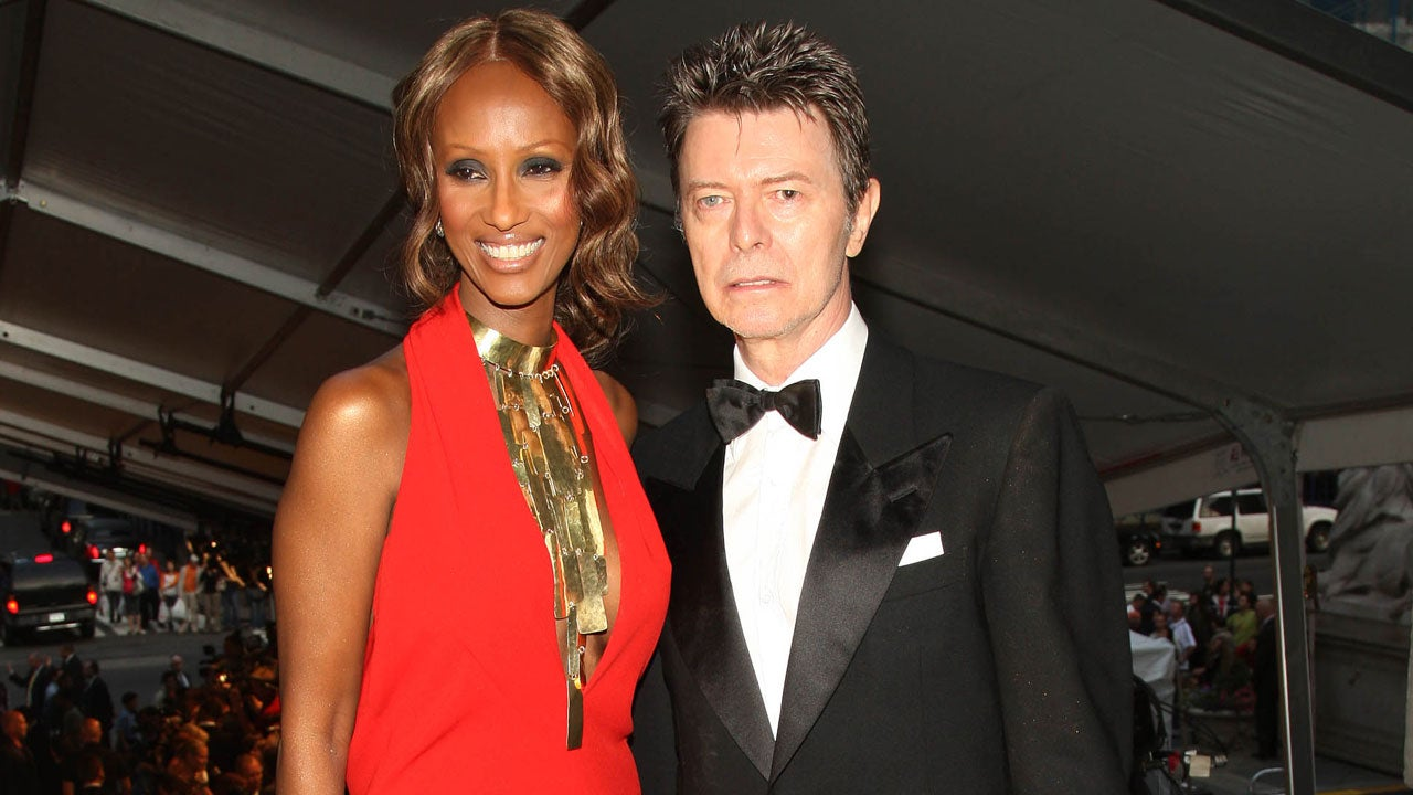 David Bowie S Wife Iman Shares Photos Of Tribute Tattoos