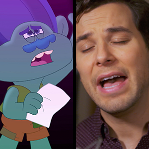 Trolls The Beat Goes On Meet The New Actors Voicing Poppy And Branch For The Netflix Series Entertainment Tonight
