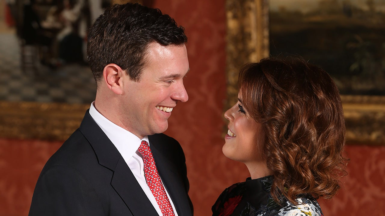 princess eugenie flashes pink sapphire engagement ring