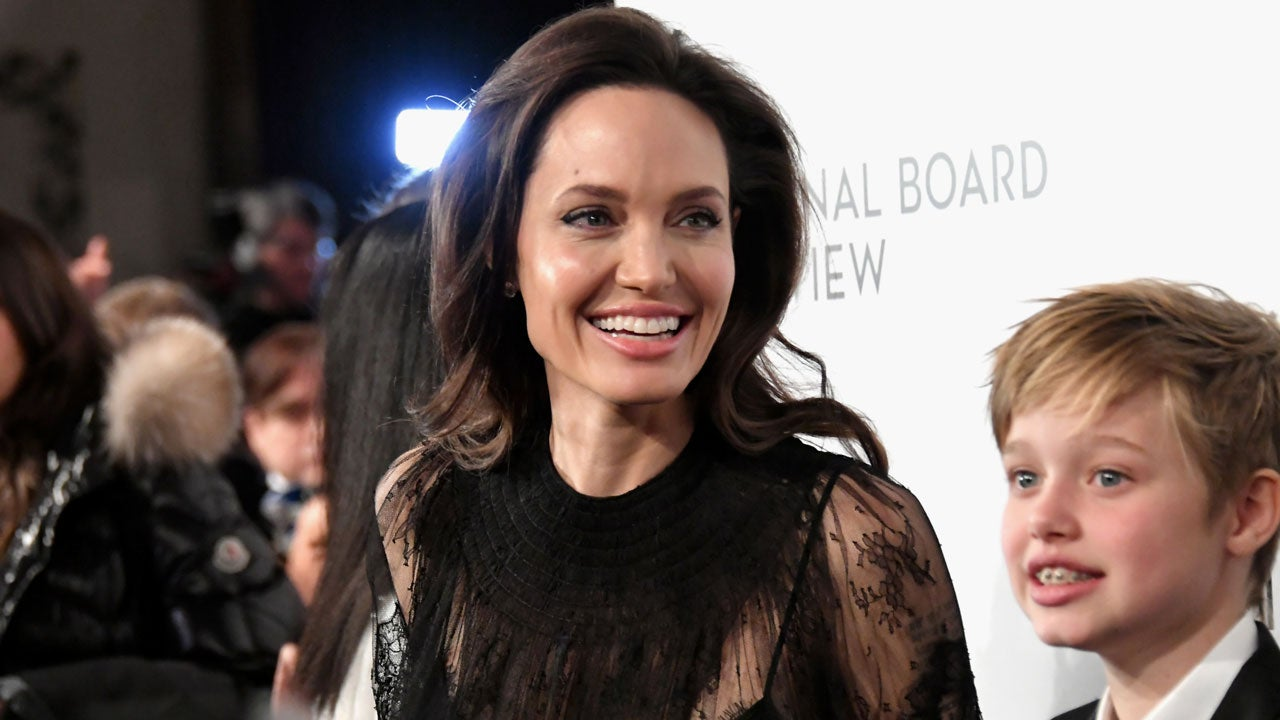 Angelina Jolie Says She 'Admires' Daughters Shiloh and ... анджелина джоли 2019
