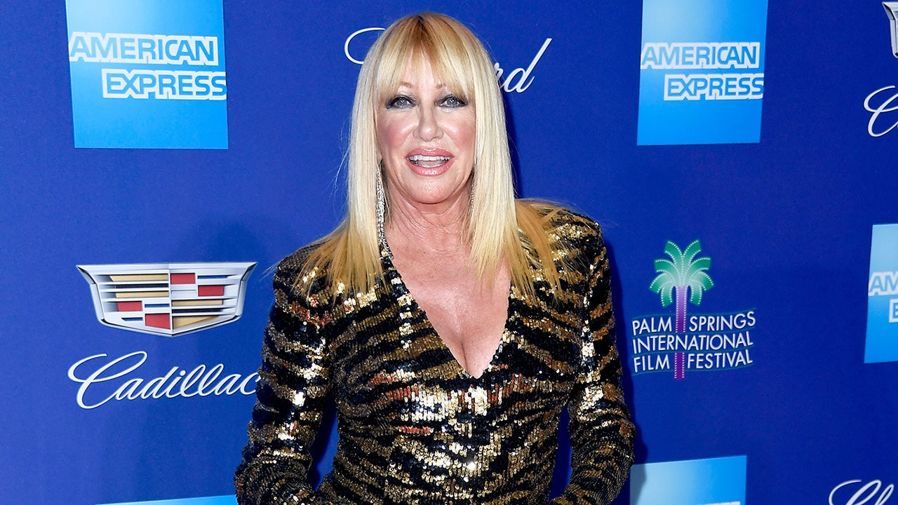 Suzanne Somers in a Balmain Mini-Dress at 71 Will Make You ...