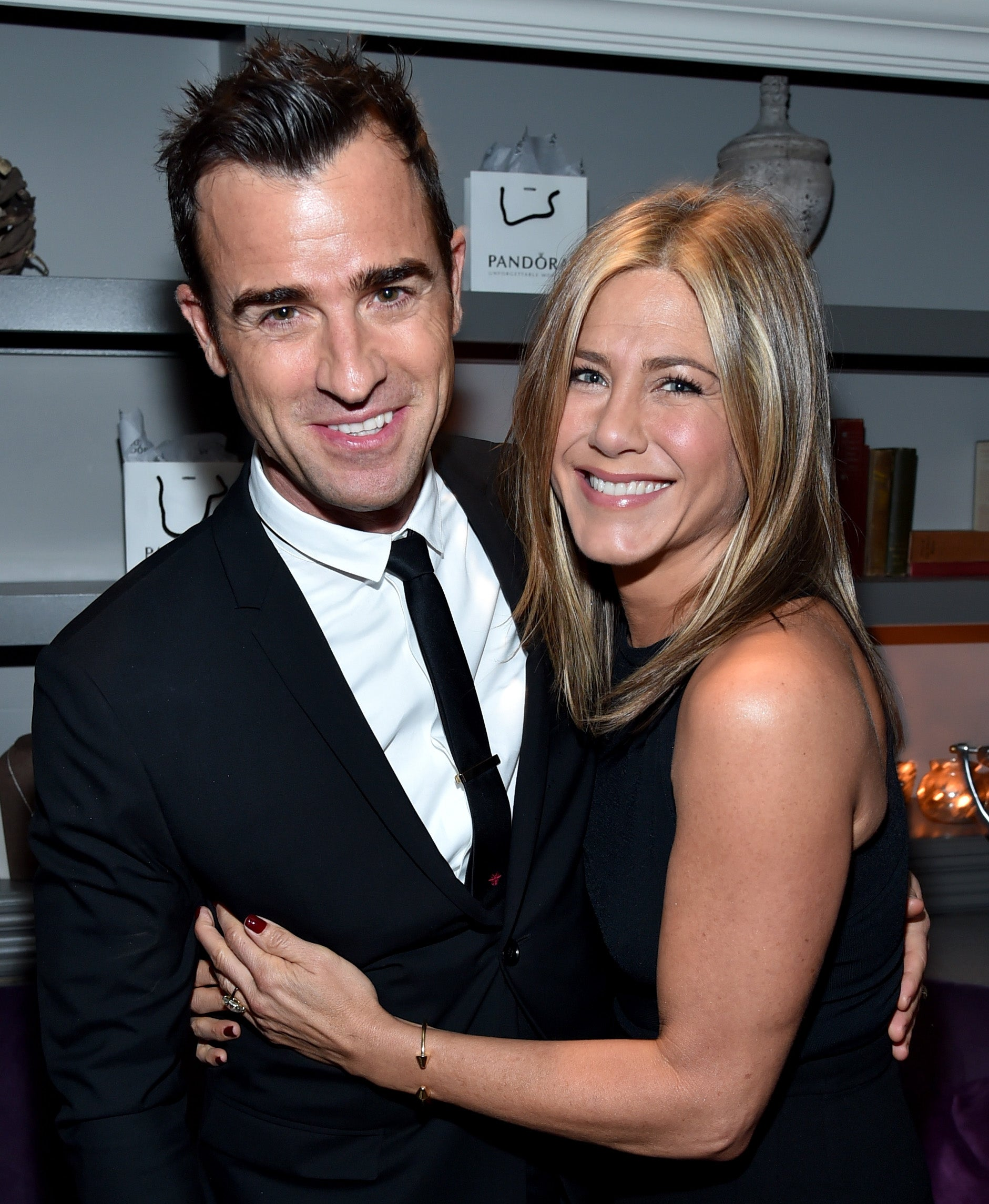 Justin Theroux Explains Why He Initially Wasn't Following Jennifer Aniston on Instagram (Exclusive)