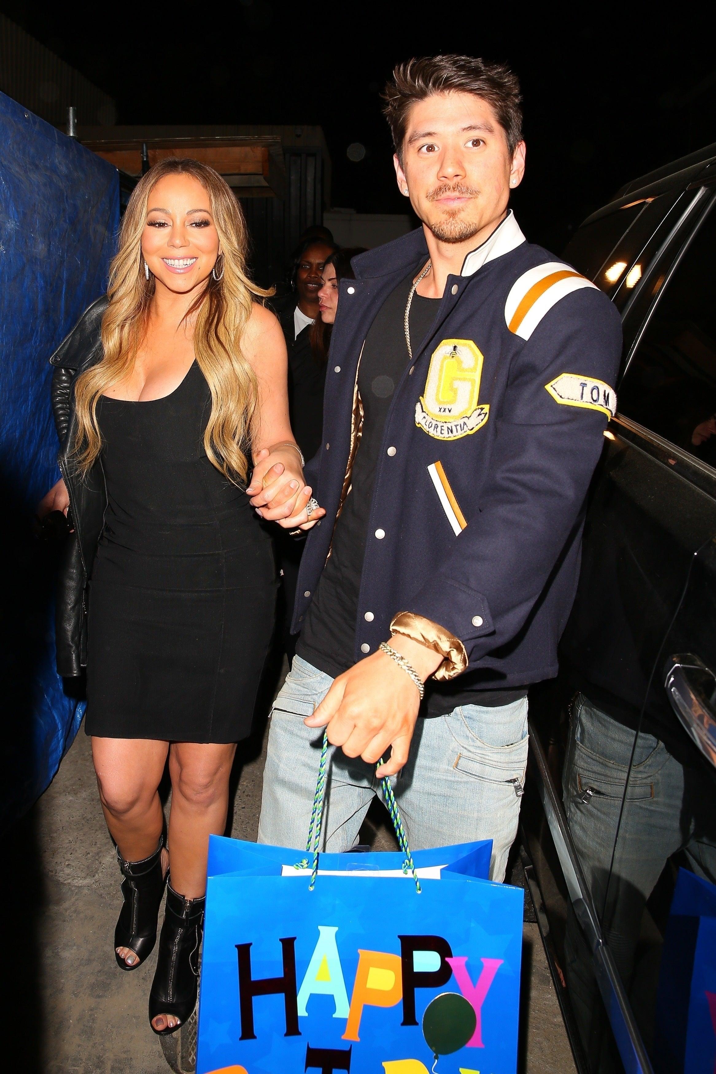 Mariah Carey Celebrates Boyfriend Bryan Tanaka's Birthday