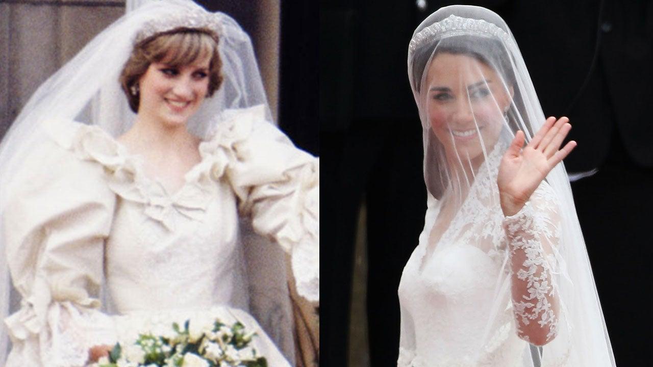 Ooh La La! Look Back At Regal Royal Wedding Dresses Over