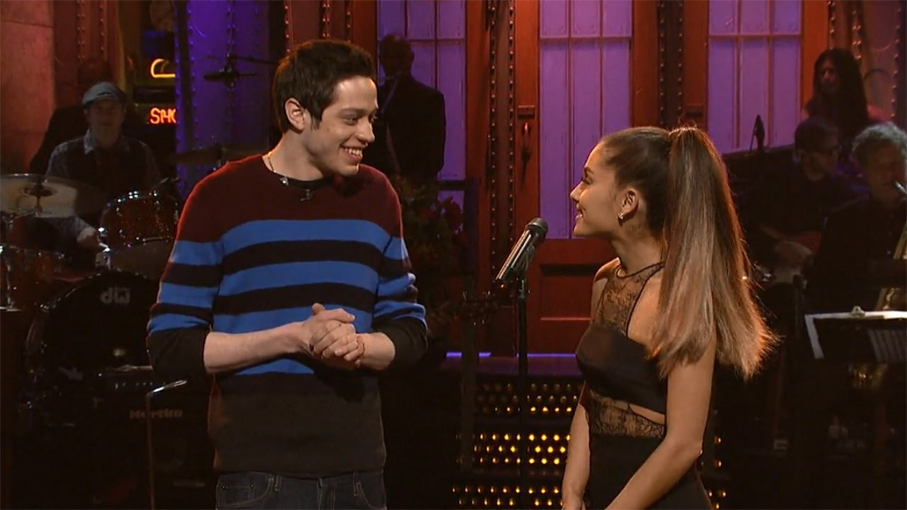 c6e2f920201c8 Ariana Grande & Pete Davidson Split: A Timeline From First Love to Calling  Off Their Engagement | Entertainment Tonight