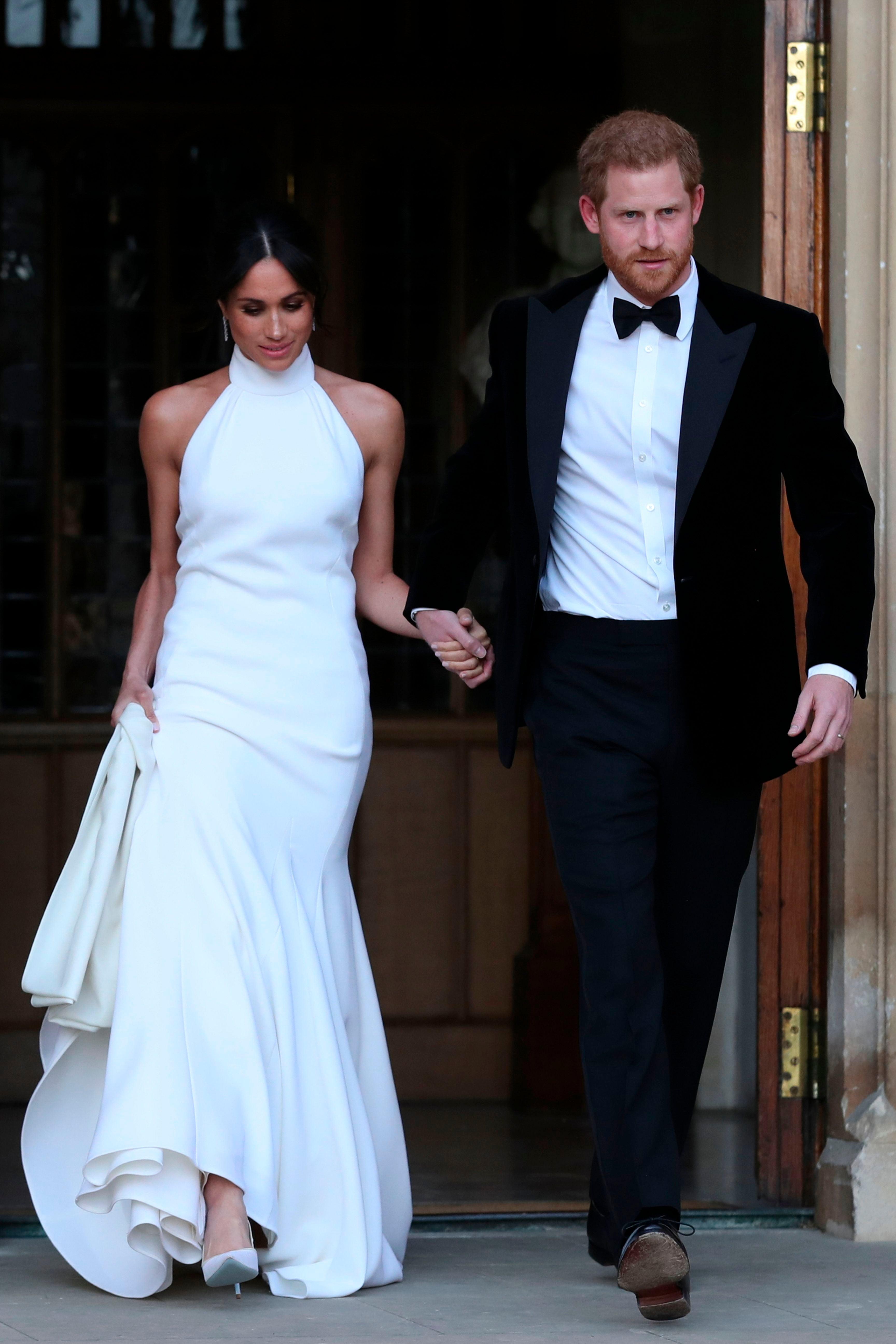 Prince Harry Wedding.Inside Prince Harry Meghan Markle S Top Tier Evening Wedding