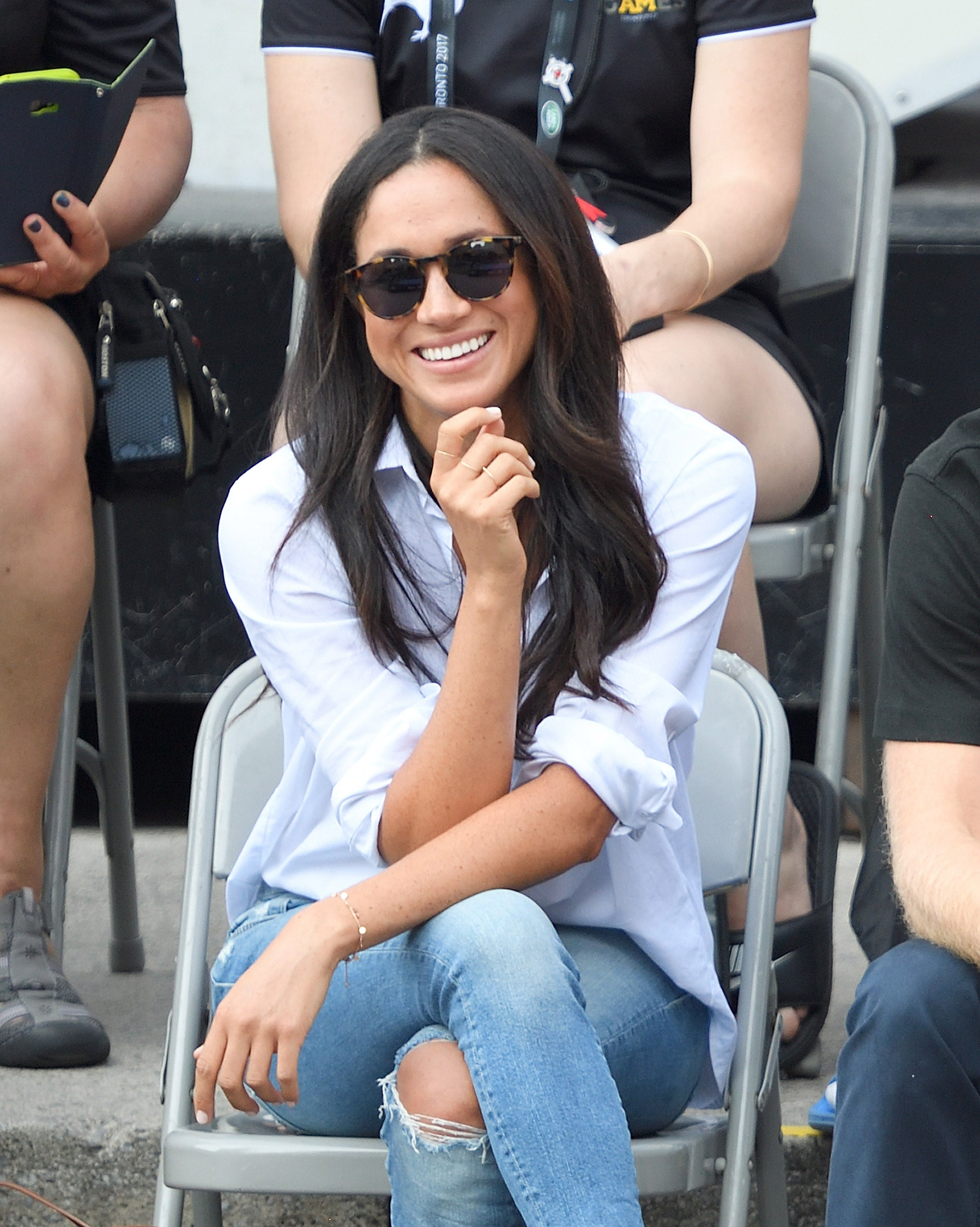 Meghan Markle's Famous 'Husband Shirt' Is Now Available in a Maternity Style