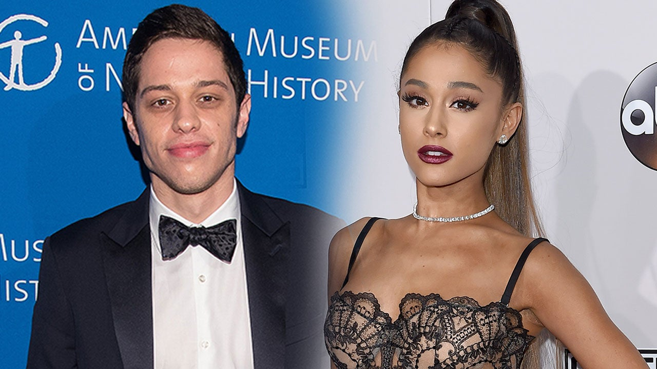 Pete Davidson in Awe of Ariana Grande as He Shares Sexy Pic of Fiancée in Lingerie