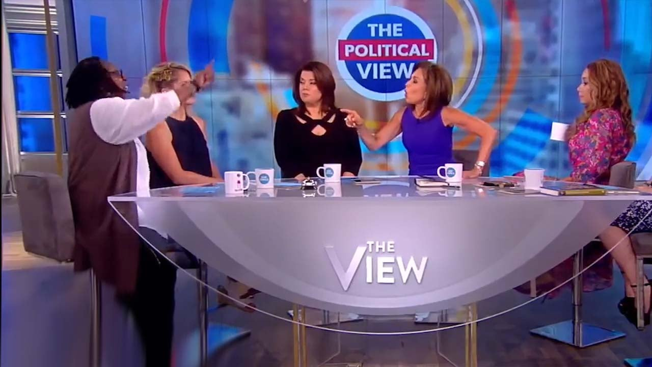 Watch Whoopi Goldberg Kick Jeanine Pirro Off The View After Heated Shouting Match