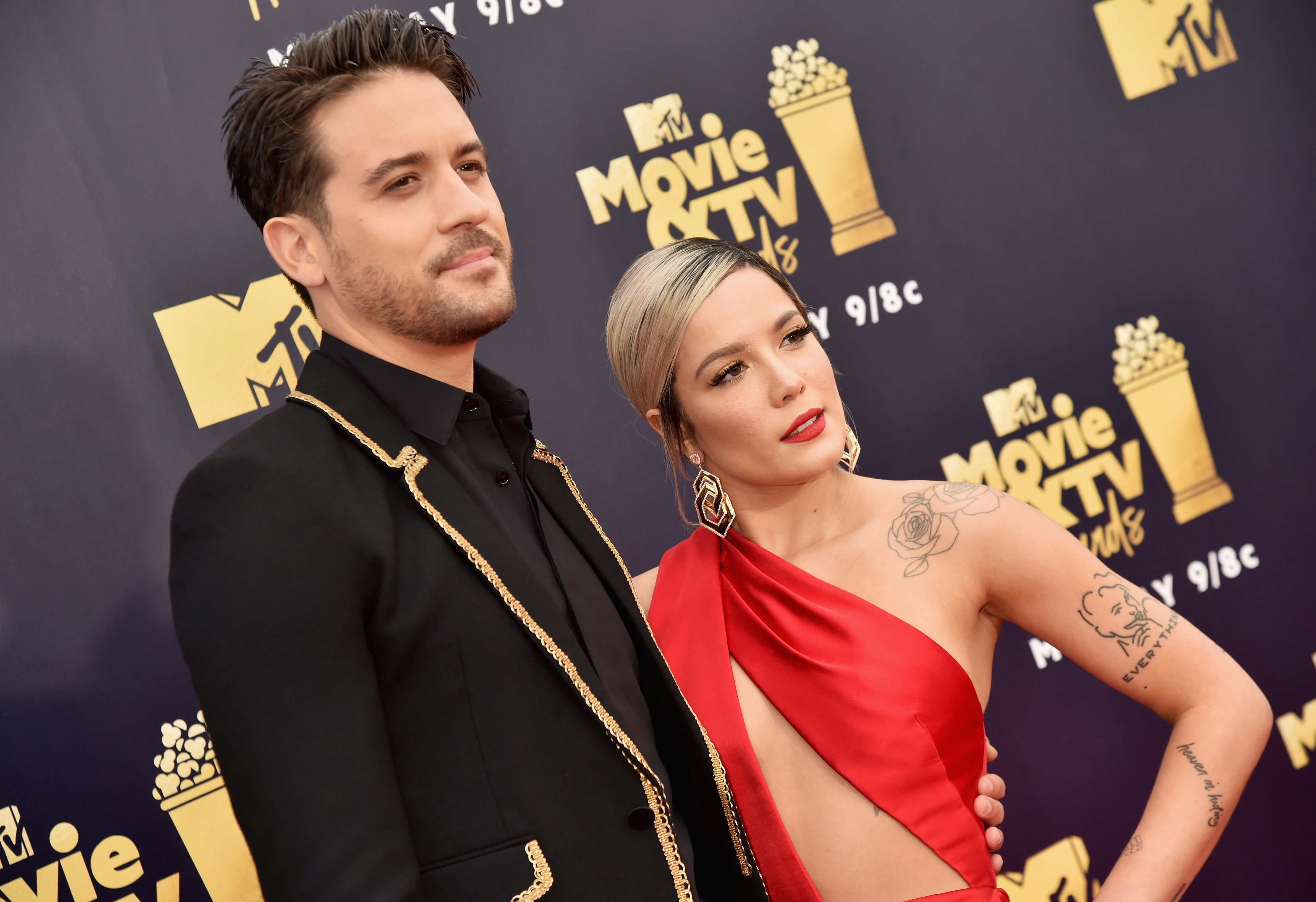Watch G-Eazy Was Spotted on a PDA-Heavy Date with Someone Whos Definitely Not Halsey video