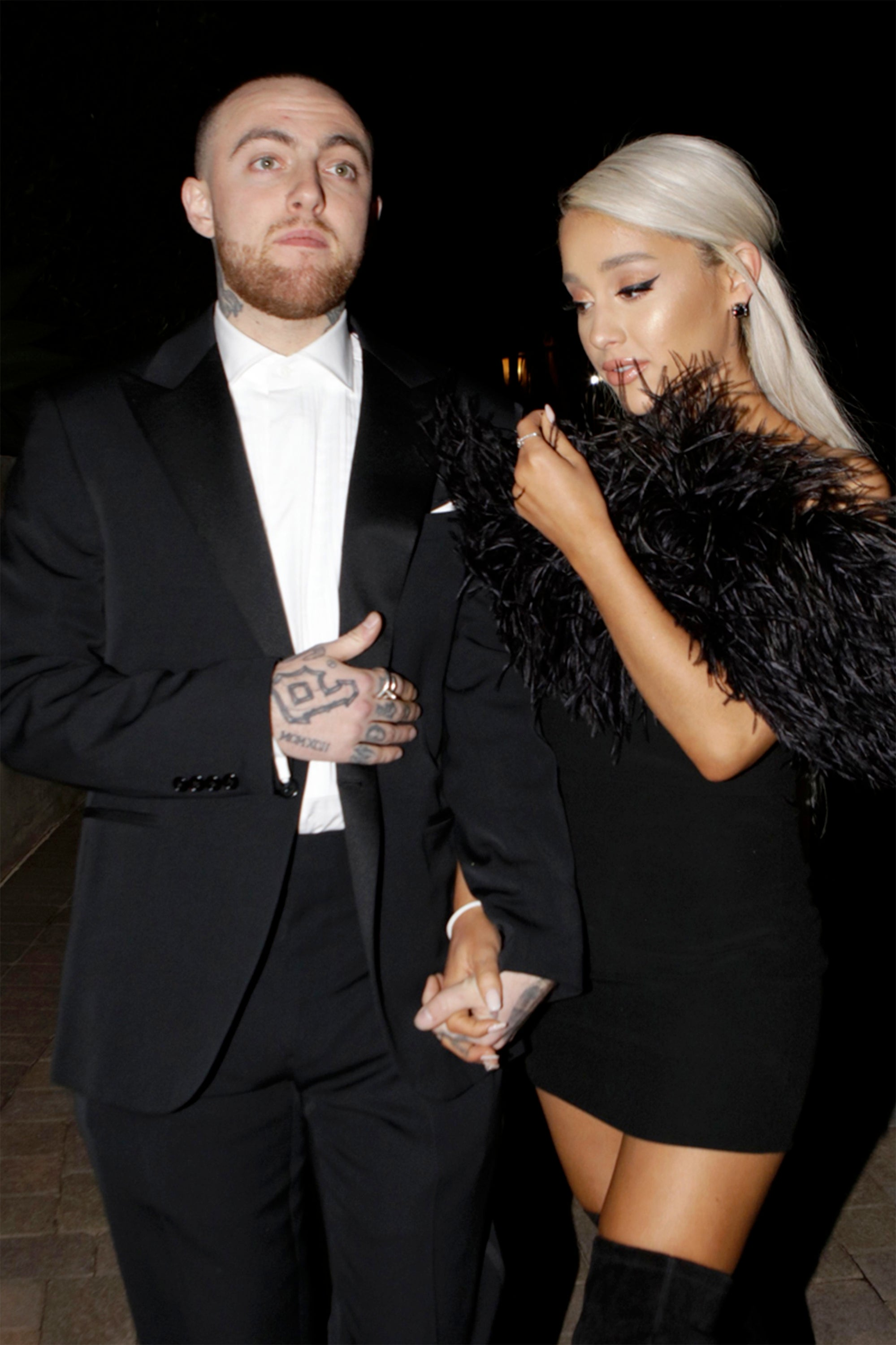 ariana grande honors mac miller with throwback thanksgiving pic