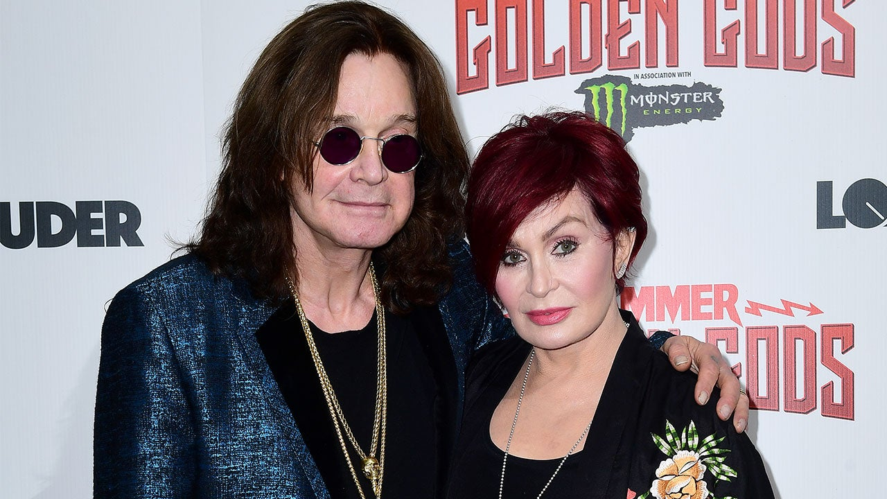 Sharon Osbourne Says This Year Has Been 'the Toughest' Following Husband Ozzy's Health Scares