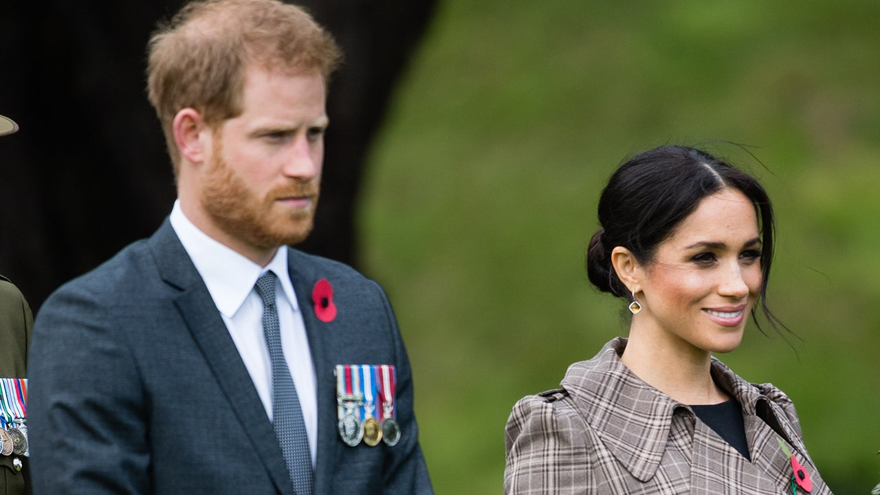 Meghan Markle Comforts Crying Fan During Royal Tour in New Zealand