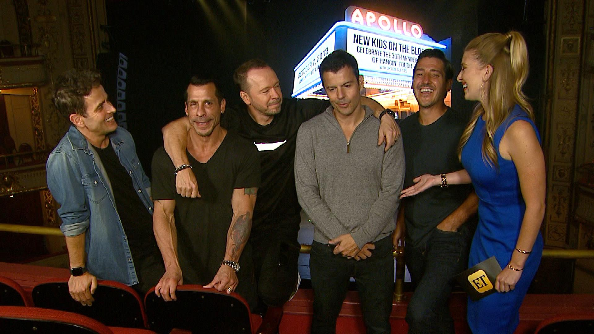 New Kids on the Block Celebrate 30 Years Together! (Exclusive)