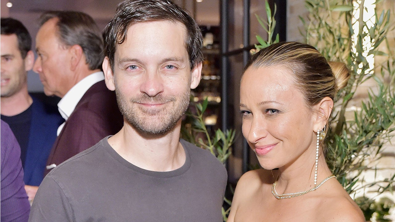 Tobey Maguire Steps Out to Support Ex-Wife Jennifer Meyer