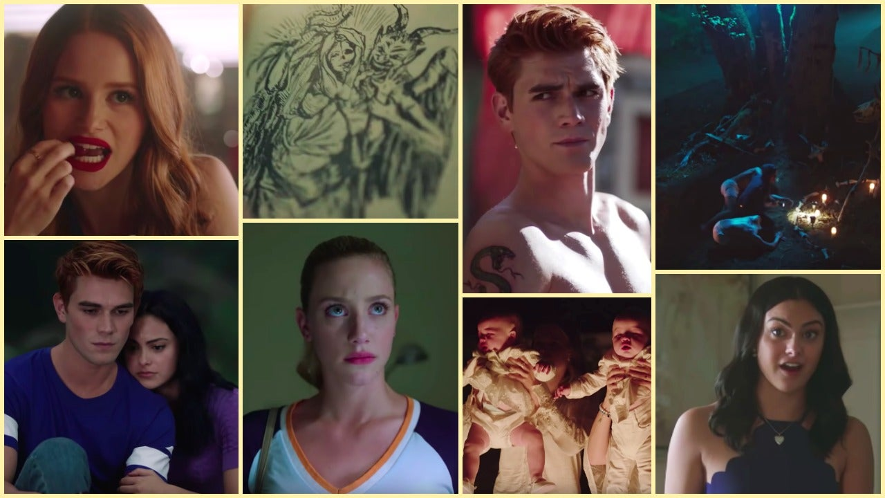 Riverdale Jughead Side south serpents tattoo new Riverdale season Archie