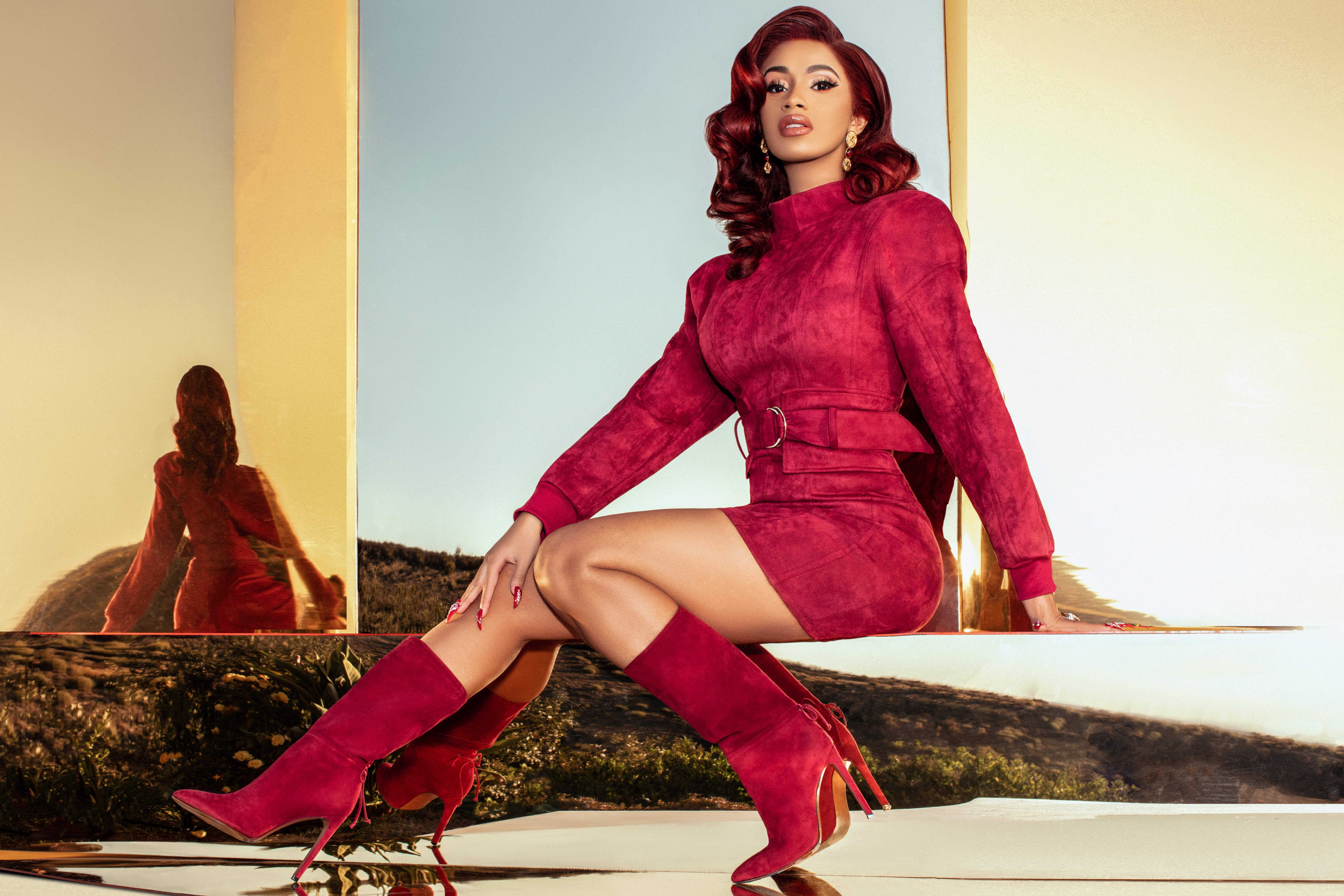 cardi b s fashion nova collection sold out in minutes but will be
