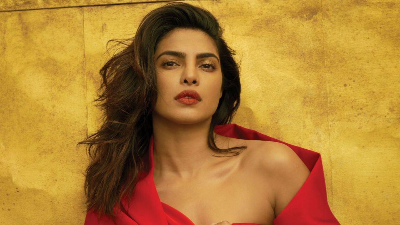 e0006a54577d Priyanka Chopra s Red Dior Dress for Indian Wedding Reception Is Absolutely  Stunning -- See the New Pics