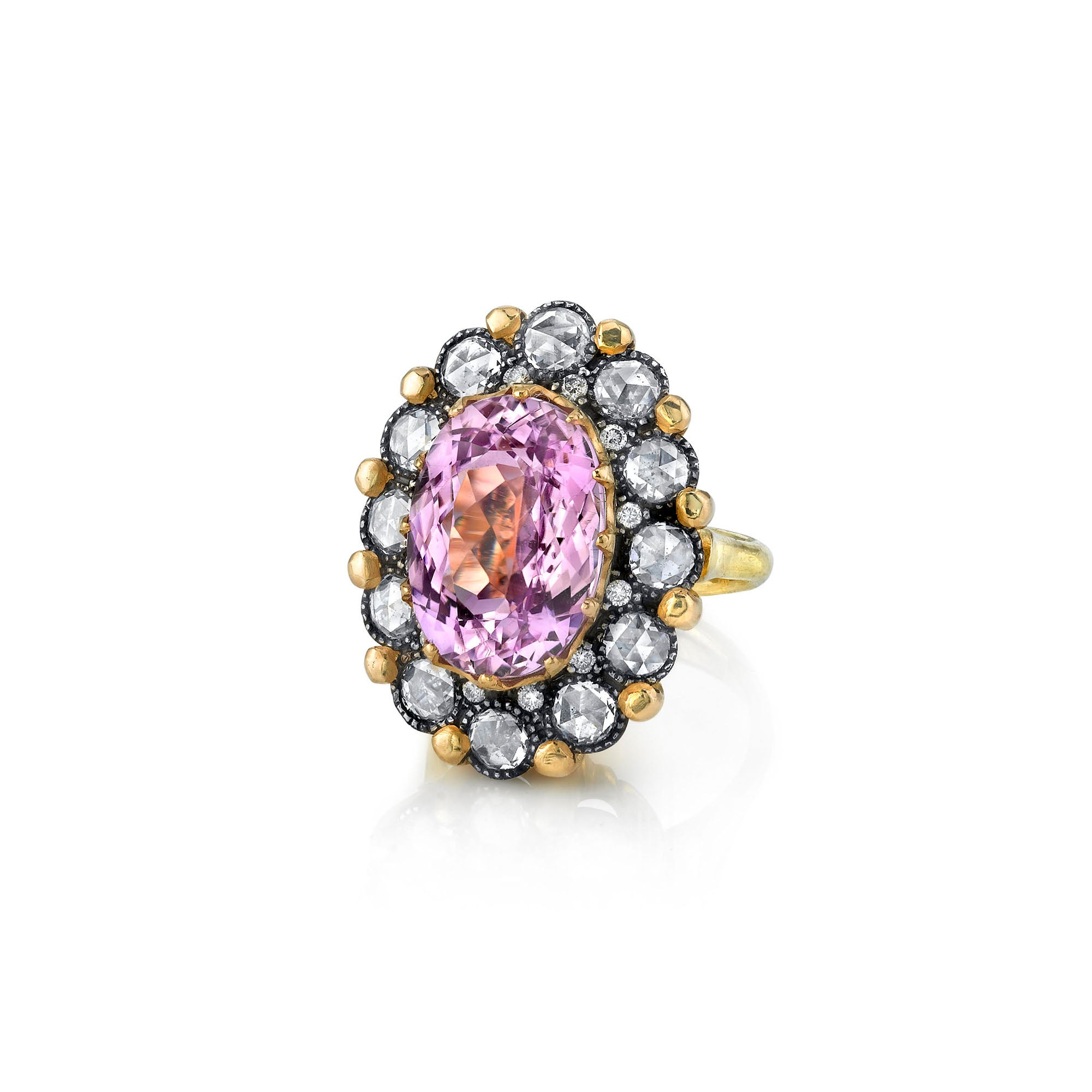 Arman Sarkisyan pink kunzite engagement ring