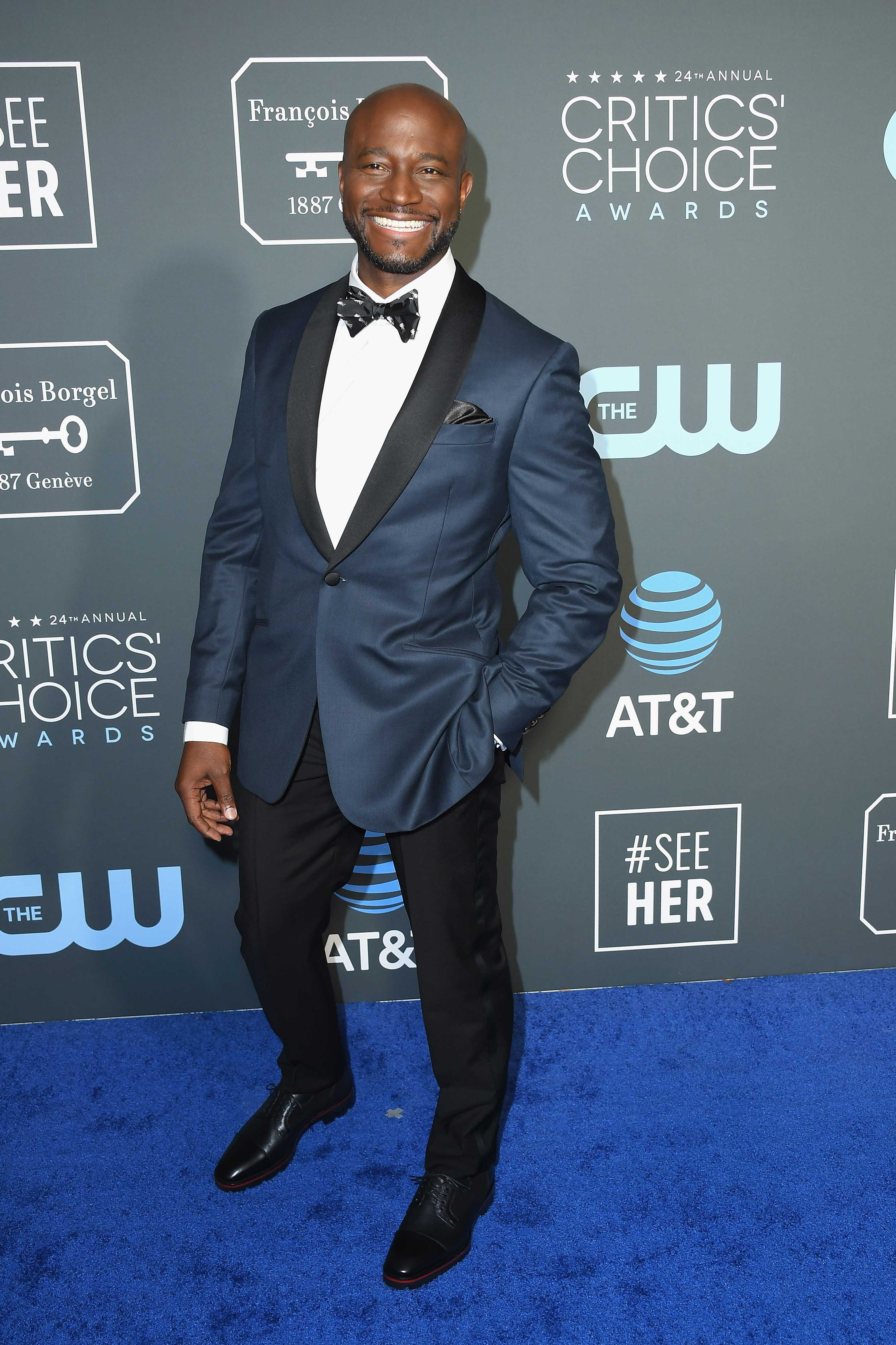 Taye Diggs Shares How Halloween Helped His New Girlfriend Win Over His Son