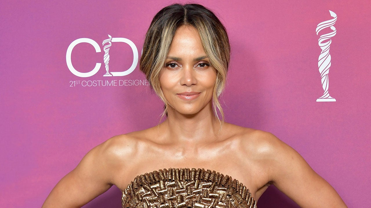 Halle Berry Celebrates Her 53rd Birthday With Braless Wet Tank Top Pic