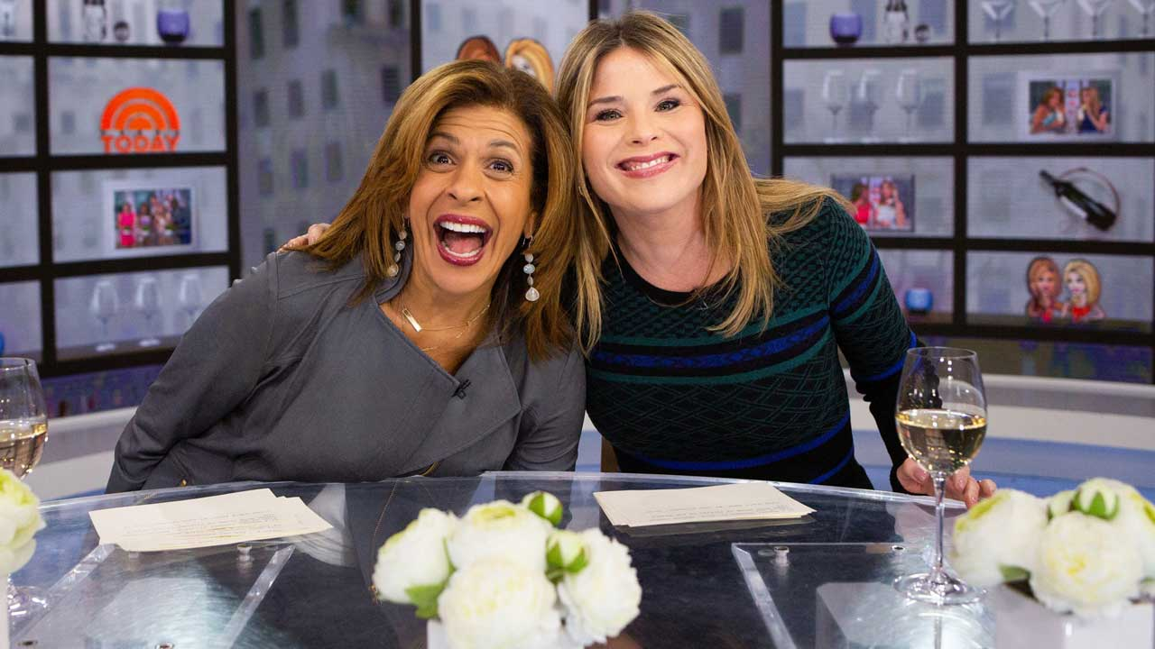 Hota Kotb and Jenna Bush Hager Weigh Themselves on Live TV