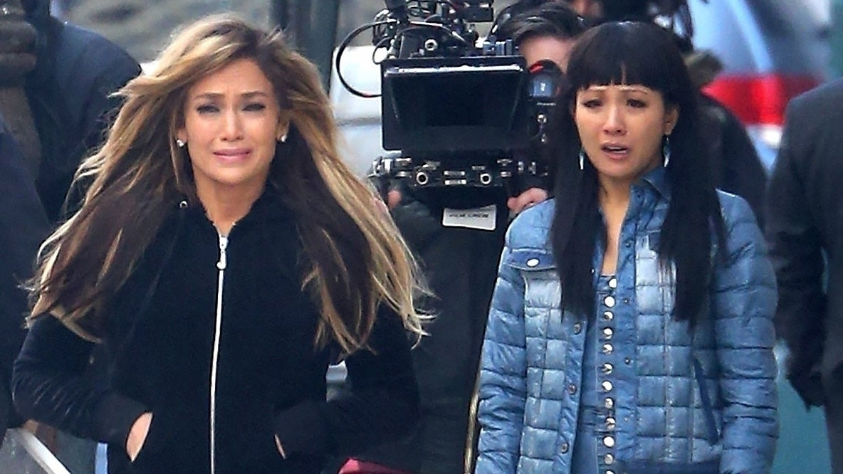 Jennifer Lopez and Constance Wu Break Down in Tears While Filming Emotional Scene for 'Hustlers'