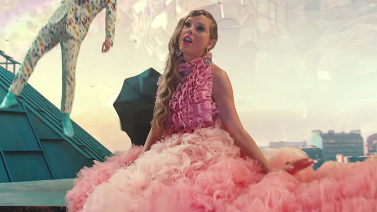 See Every Dreamy Outfit Taylor Swift Wears In Me Music Video Entertainment Tonight