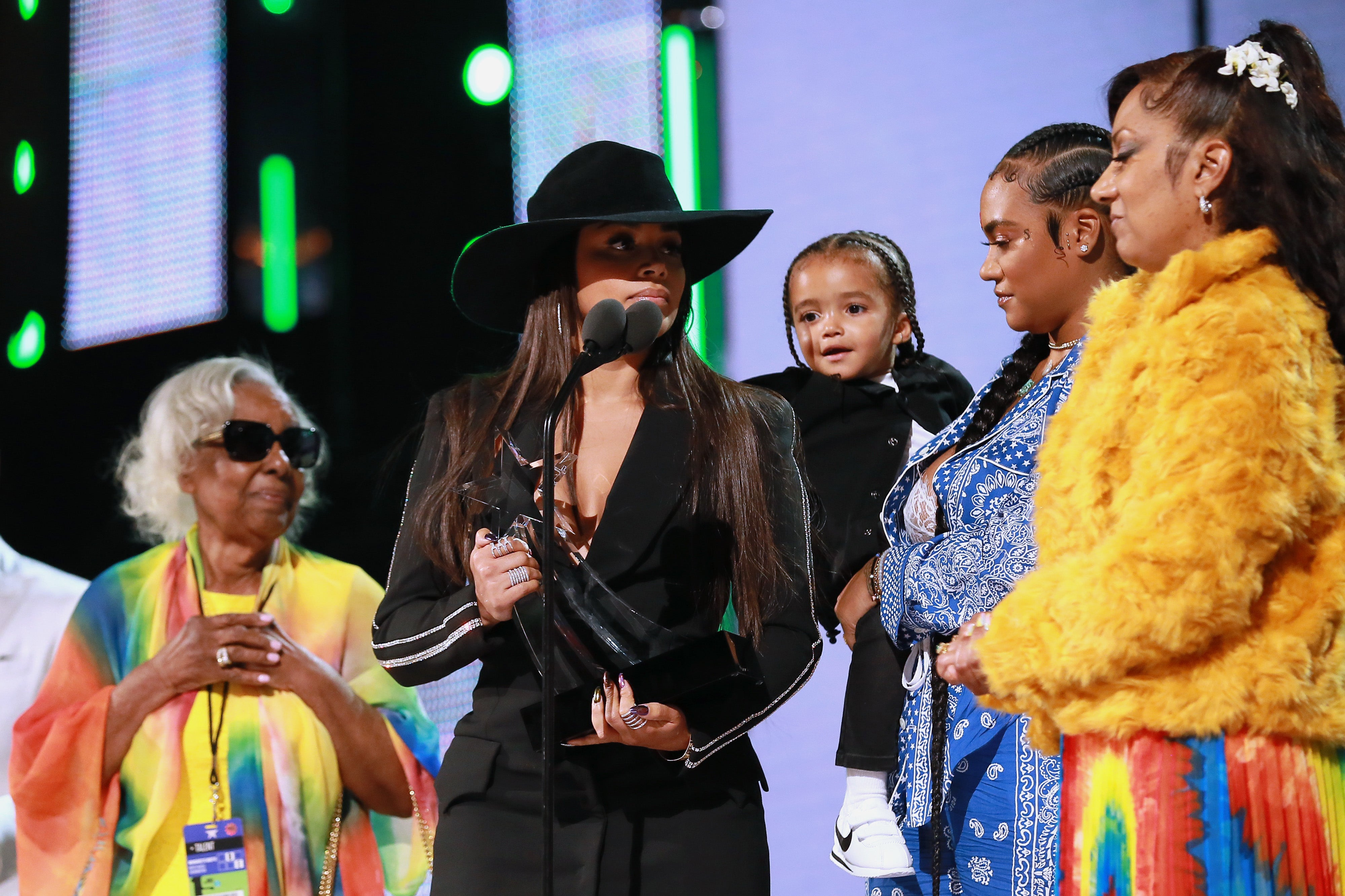 Lauren London and Nipsey Hussle's Family Emotionally Accept
